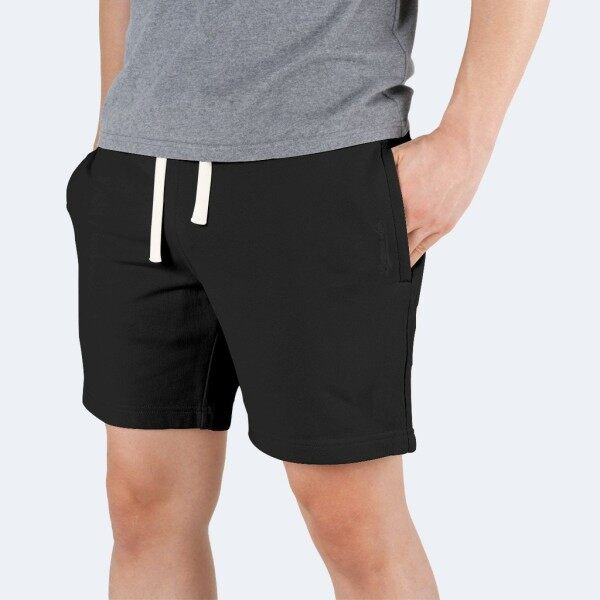 Bottoms Lab 9 inch Ease Lounge Shorts - Midnight Black