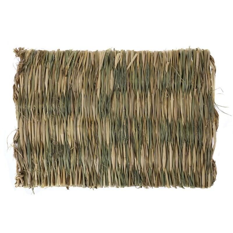 Rab-bit Grass Chew Mat Động Vật Nhỏ Hams-ter Gui-Nea Chuồng Lợn Lồng Giường Nhà Pad