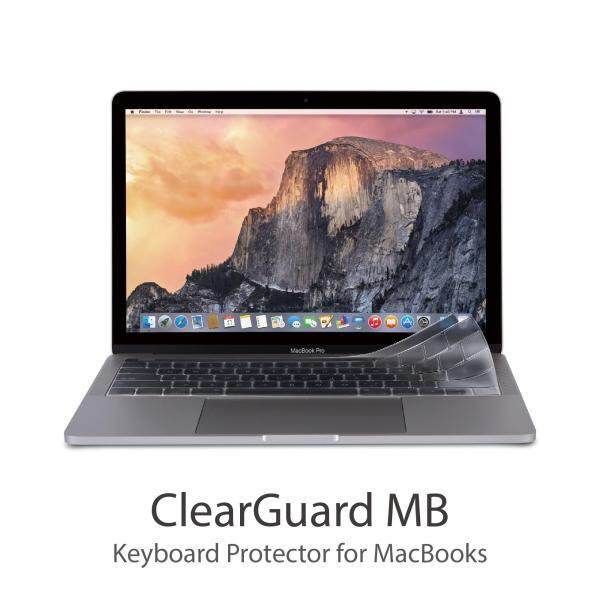 Moshi ClearGuard MB Keyboard Protector for MacBooks (with Touch Bar, US),Durable, Non-toxic,0.1 mm thin,High transparency Malaysia