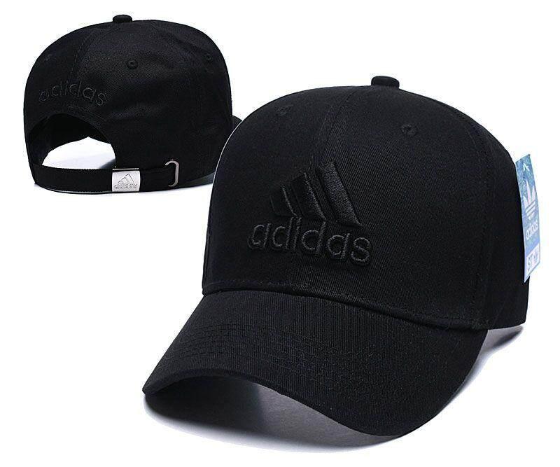 Giá bán Ban đầu Adidas_caps 2019 Phụ Nữ Mới Nam Bóng Chày Nữ Màu Trơn Ngoài Trời Có Thể Điều Chỉnh logo thương hiệu Thêu Người Yêu Mũ Nón nữ mùa hè Đen Màu Trắng