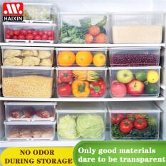 Hộp Giữ Tươi HAIXIN Cho Tủ Lạnh Nhà Bếp Hộp Bảo Quản Thực Phẩm Hoa Quả Rau Củ Ngăn Kéo Hoàn Thiện Hộp Đựng
