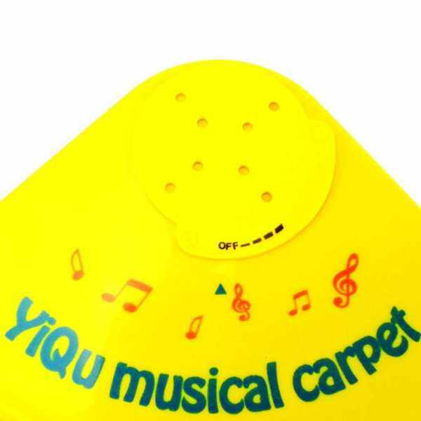 Musical Sound Carpet Baby Touch Play Piano Kids Music Cushion Mat Fun Toy Multi-color 61.5 * 48cm (Standard) Malaysia