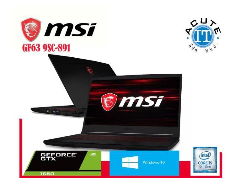 MSI GF63 9SC-891 Malaysia