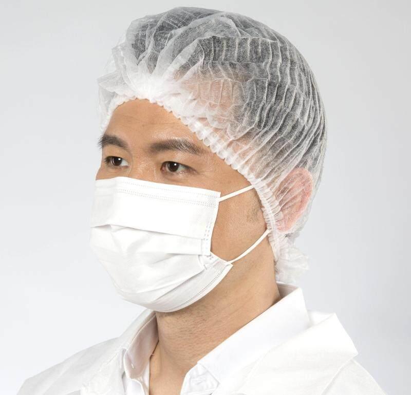 Bouffant Clip Cap / Hair Net (520mm) (Good Quality) (Double Elastic)