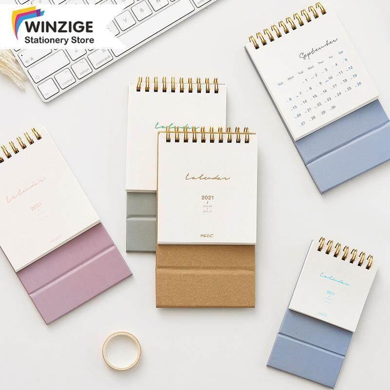 Winzige Lịch Để Bàn Mini Ins 2021 Sổ Lập Kế Hoạch Nhật Ký Văn Phòng Phẩm Cho Học Sinh Văn Phòng