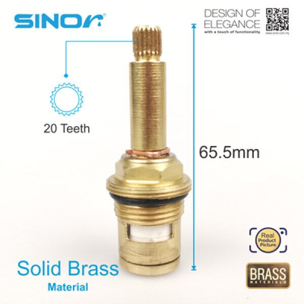 SINOR S-101-L-DR QUARTER TURN DOUBLE RING CERAMIC DISC HEAD WORK (1PCS)