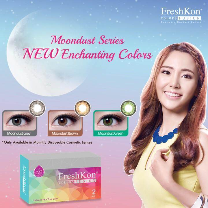 Freshkon Colors Fusion Monthly Cosmetic Contact Lenses (2 Pcs)