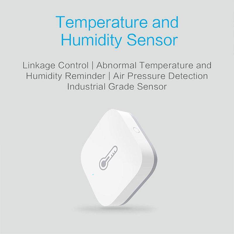 Smart Temperature Sensor Switch Sensors Home Automation Air Pressure Detection Controller WSDCGQ11LM -20 TO 50℃ Humidity Monitoring Remote Controls for Xiaomi