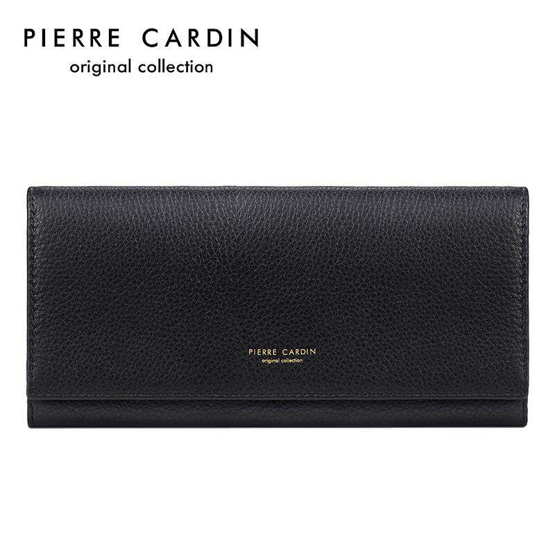 Pierre Cardin Clutch women Versatile Wallet Long Leather Large Wallet women bag  bags Leather Wallet Handbag 55ffc5167b129
