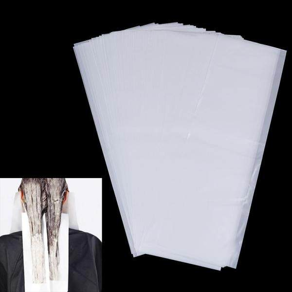 Godessing Giấy Nhuộm Tóc Tái Sử Dụng 100x Tấm Tách Màu Nổi Bật Cho Thợ Cắt Tóc
