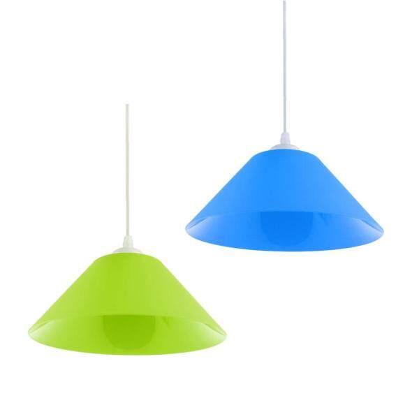 Perfk 2pcs Lampshade Pendants Nordic Chandelier Modern Minimalist Pendant Lighting