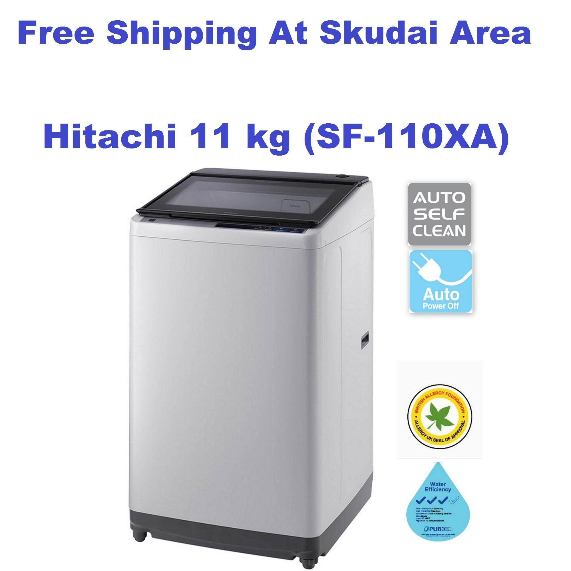 Hitachi Auto Self Clean Washing Machine - 11kg (SF-110XA)