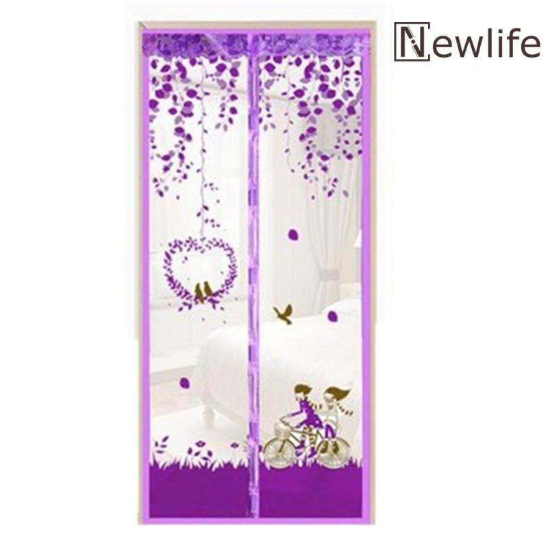 Rèm Cửa Vải Tuyn Nam Châm Chống Muỗi Bền Bỉ Rèm Cửa Lưới In Họa Tiết