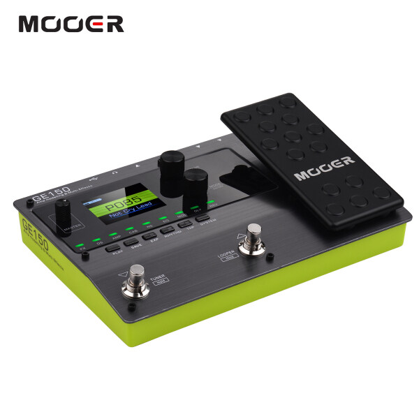 【Free Shipping】MOOER GE150 Amp Modelling & Multi Effects Pedal 55 Amplifier Models 151 Effects 80s Looper 40 Drum Rhythms 10 Metronome Tap Tempo OTG Function Malaysia