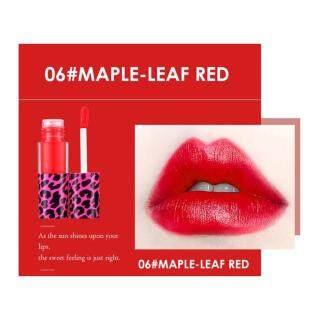 Lipstik Macan Tutul Merah Lapisan Bibir Beludru Matte, Lipstik Pelembap Tahan Lama thumbnail