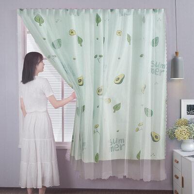 Rèm Phòng Ngủ Bestenrose Rèm Cửa Sổ Velcro Tự Dính Rèm Chắn Sáng