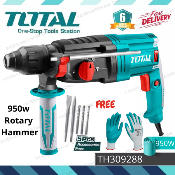 TOTAL TH309288 950W 28mm Rotary Hammer