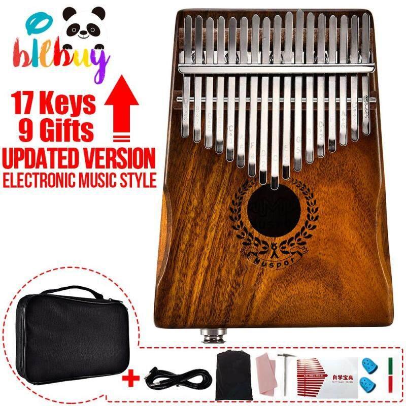 17 Keys Acacia Portable Professional Kalimba Thumb Piano Upgrade Version With Jack For External Audio Amplifier And Recording Malaysia