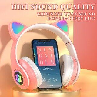 Tai Nghe Không Dây SUMLIFE B39 TWS, Tai Nghe Chơi Game, Tai Nghe Thể Thao Thời Trang Tai Mèo Tai Nghe Nhạc Bluetooth 5.0 thumbnail