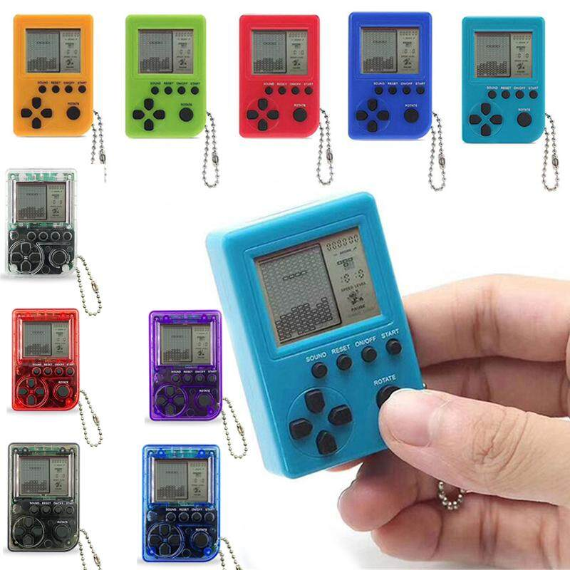Retro Game Machine Classic Mini Nostalgia Mini Sup X Game Box Tetris Handheld (color: Random Delivery) By Erui.