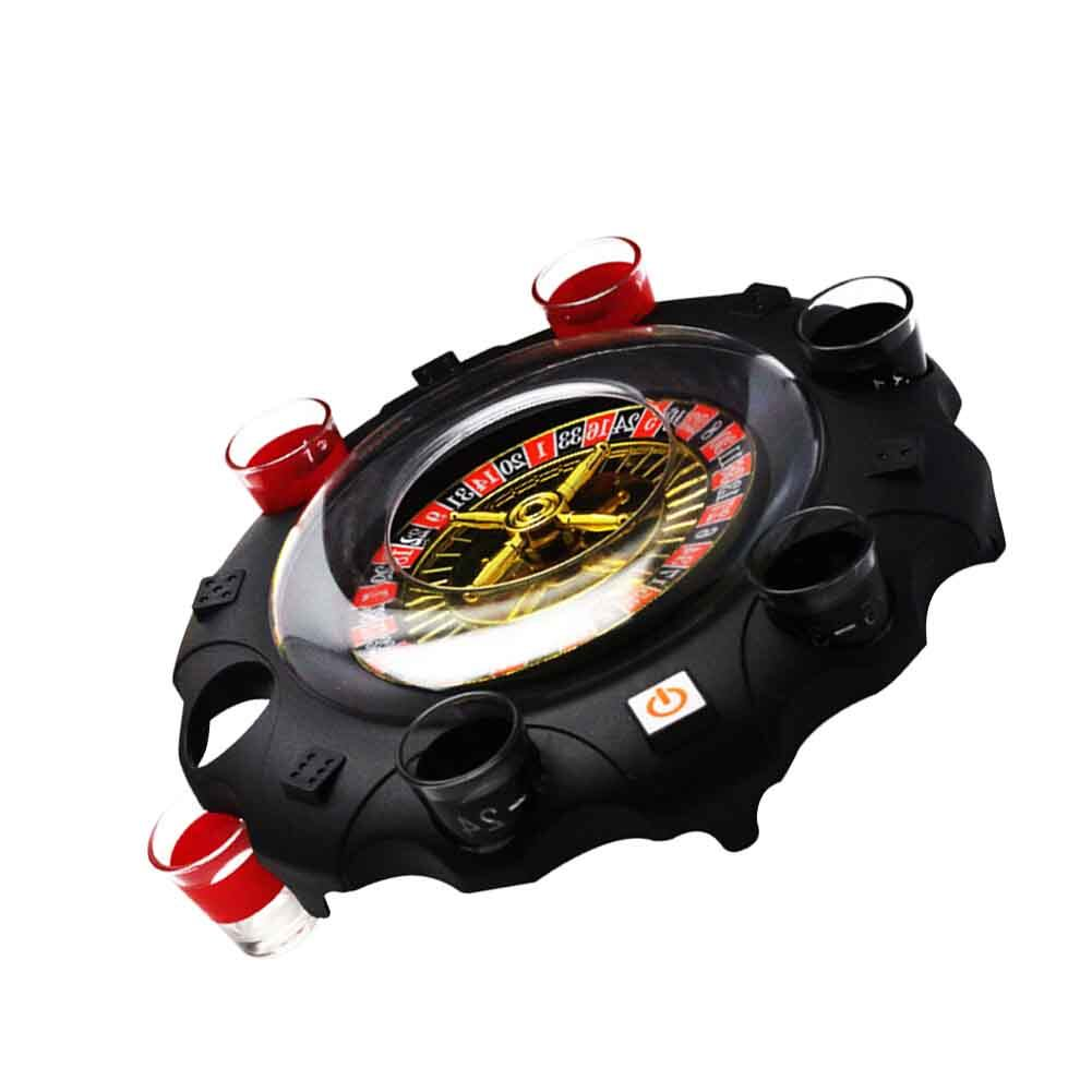 Battery Powered Tool Toy Bar Entertainment Ktv Home Gifts Russia Board Game Adult Party Drinking Turntable.