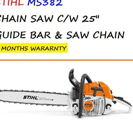 STIHL MS382 CHAIN SAW C/W 25