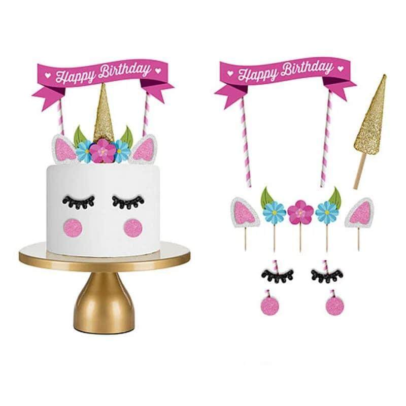 Cake Cupcake Toppers