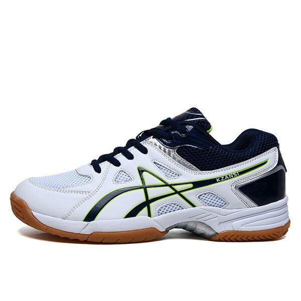 Bảng giá 2020 Thương Hiệu Nam Nữ Giày Tennis Đỏ Bạc Trọng Lượng Nhẹ Ren Lên Giày Thể Thao Cầu Lông Cỡ Lớn 39-46 Giày Bóng Chuyền Mới