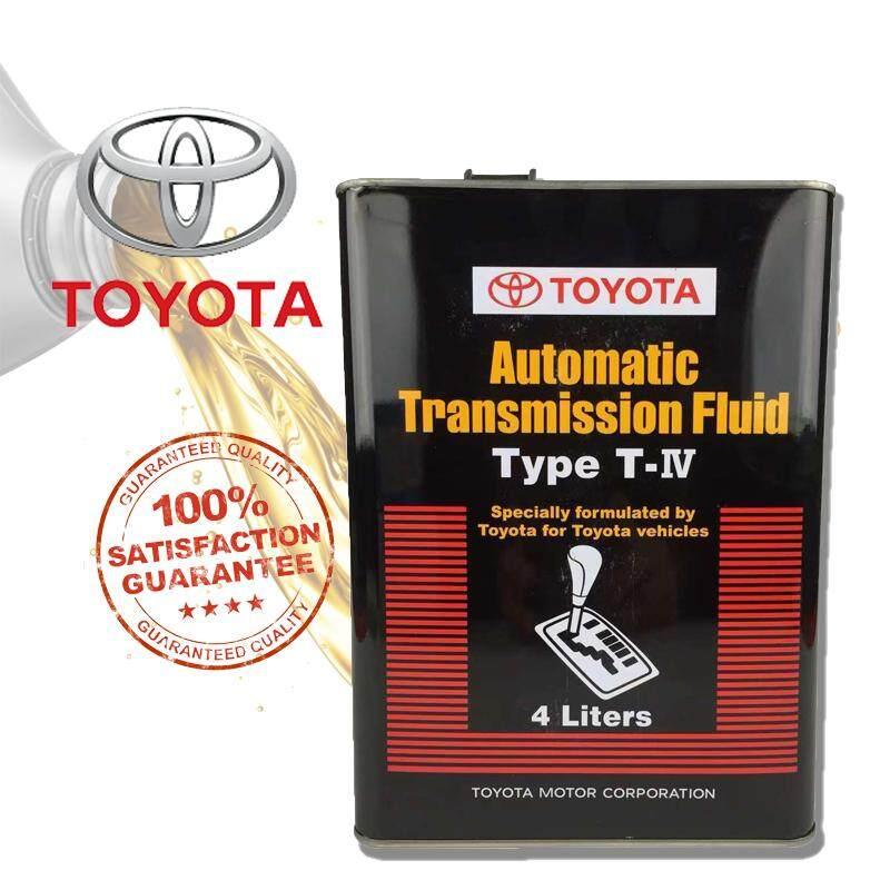Original Toyota Automatic Transmission Fluid ATF Type T-IV 4 Liters