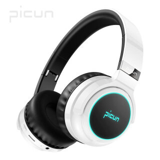 Tai Nghe Picun B26 Bluetooth 5.0 Điều Khiển Cảm Ứng Thời Gian Chơi 40H Đèn LED Tai Nghe Tai Nghe Không Dây Có Mic Tai Nghe AUX Qua Tai TF thumbnail
