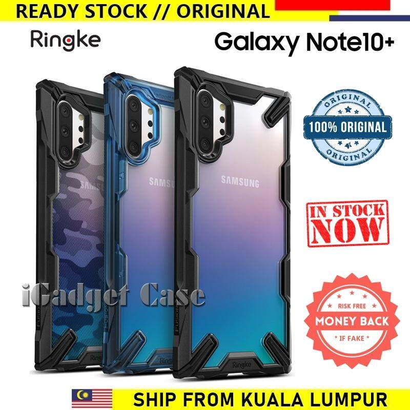Original Ringke Fusion X Samsung Galaxy Note 10 Plus / Note10 Plus  (Note10+) case cover casing // READY STOCK