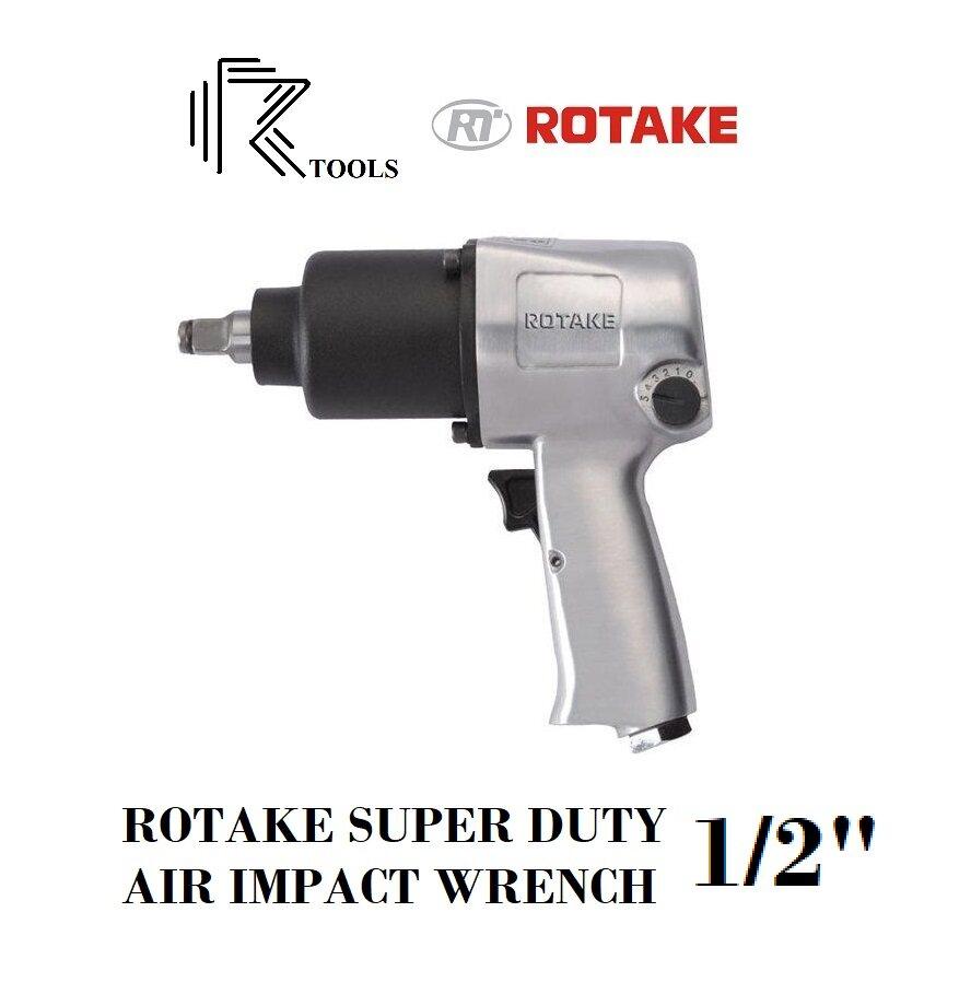 ROTAKE RT5268 SUPER DUTY AIR PNEUMATIC IMPACT WRENCH TWINS HAMMER 1/2  700Nm 28MM