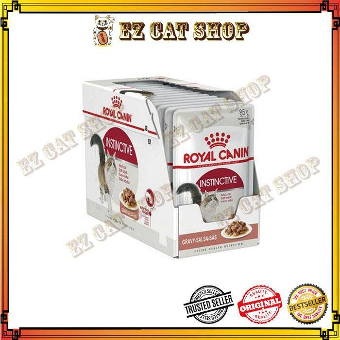 Royal Canin Instintive Cat Wet Pouch 85gm X 12 By Ez Cat Shop.
