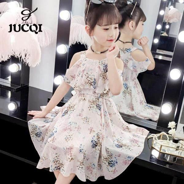 Giá bán Váy Thời Trang Nữ Jucqi Mùa Hè 2021 Mới Cho Trẻ Em Hàn Quốc Mùa Hè Họa Tiết Tuyết Công Chúa