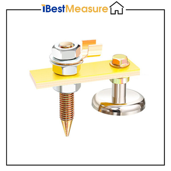 iBestMeasure Single Head With Clamp Magnet Head Magnetic Ground Clamp Metal Plate Welding Support Tool Accessories