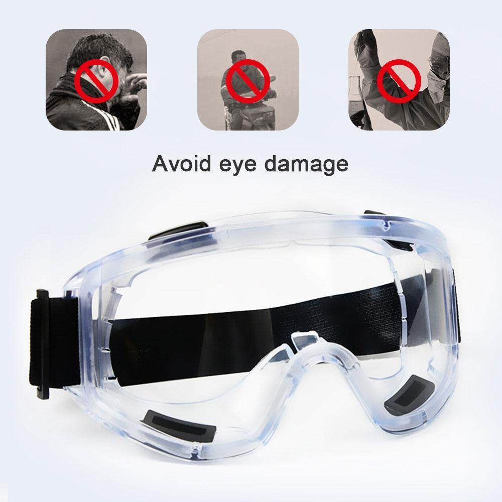 Niceeshop Over-Glasses Safety Glasses - With Clear Anti-Scratch Wraparound Lenses, Uv400 Protection For Personal Protective Equipment For Construction, Diy, Lab & Home By Nicee Shop.