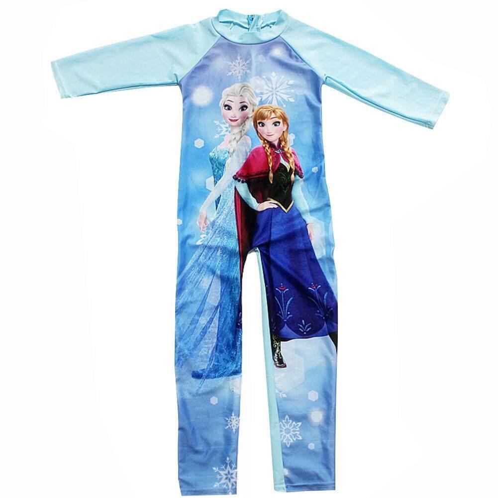 73163fe051 Cartoon Girl Kids Swimsuit Baby Swimming Suit Swimwear for 2-12 years