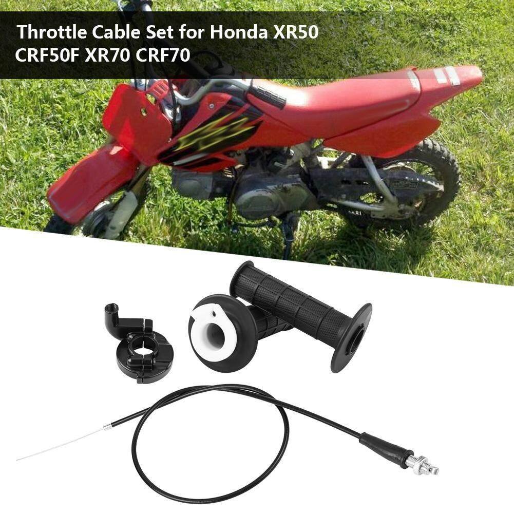 [Clearance Promotion]CR80/CR60 Throttle Cable Set for Honda XR50 CRF50F  XR70 CRF70 90cm