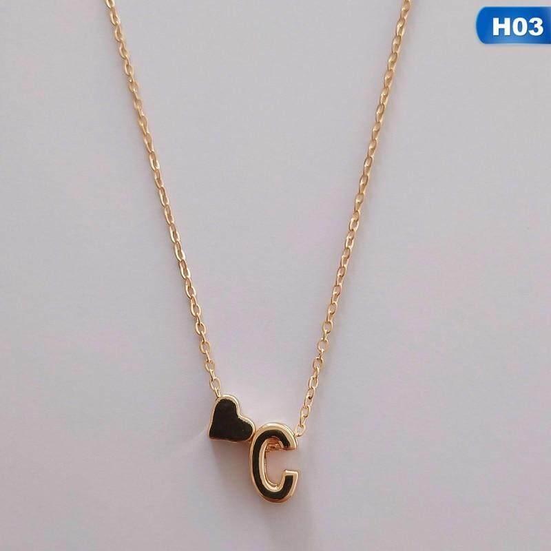 Tiny Vàng Màu Ban Đầu Vòng Cổ Thư Vòng Cổ Statemant Dây Chuyền Mặt Dây Chuyền Cá Nhân Cho Phụ Nữ Cô Gái Tốt Nhất Món Quà Sinh Nhật