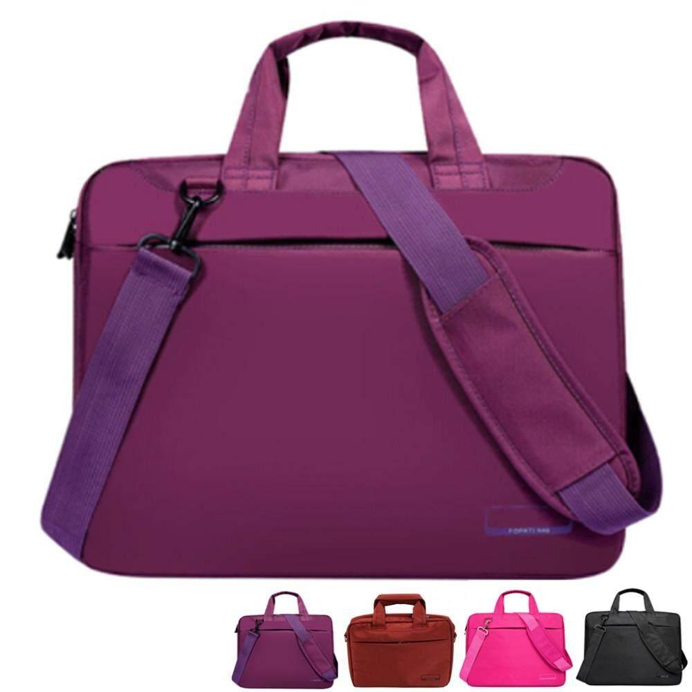 828a557b512 Laptop bag case 12 14 15 17inch Nylon airbag shoulder handbag computer bags