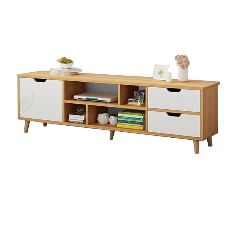 KS TV cabinet high style modern and simple small apartment living room bedroom TV table master bedroom home TV cabinet