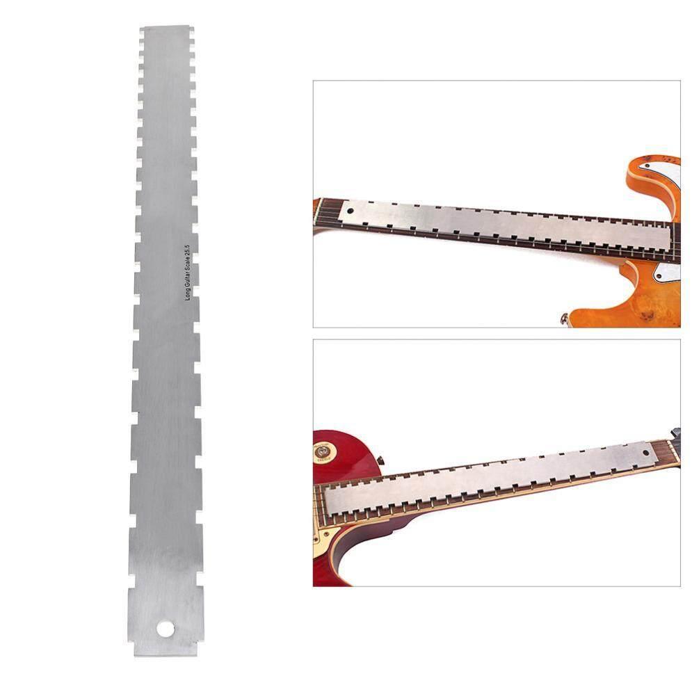 SLADE Quy Mô Kép Thép không gỉ Đàn Guitar Cổ Kiểu Chữ V Thẳng Edge Luthiers Dụng Cụ Đo Fretboard và Giải Tầng