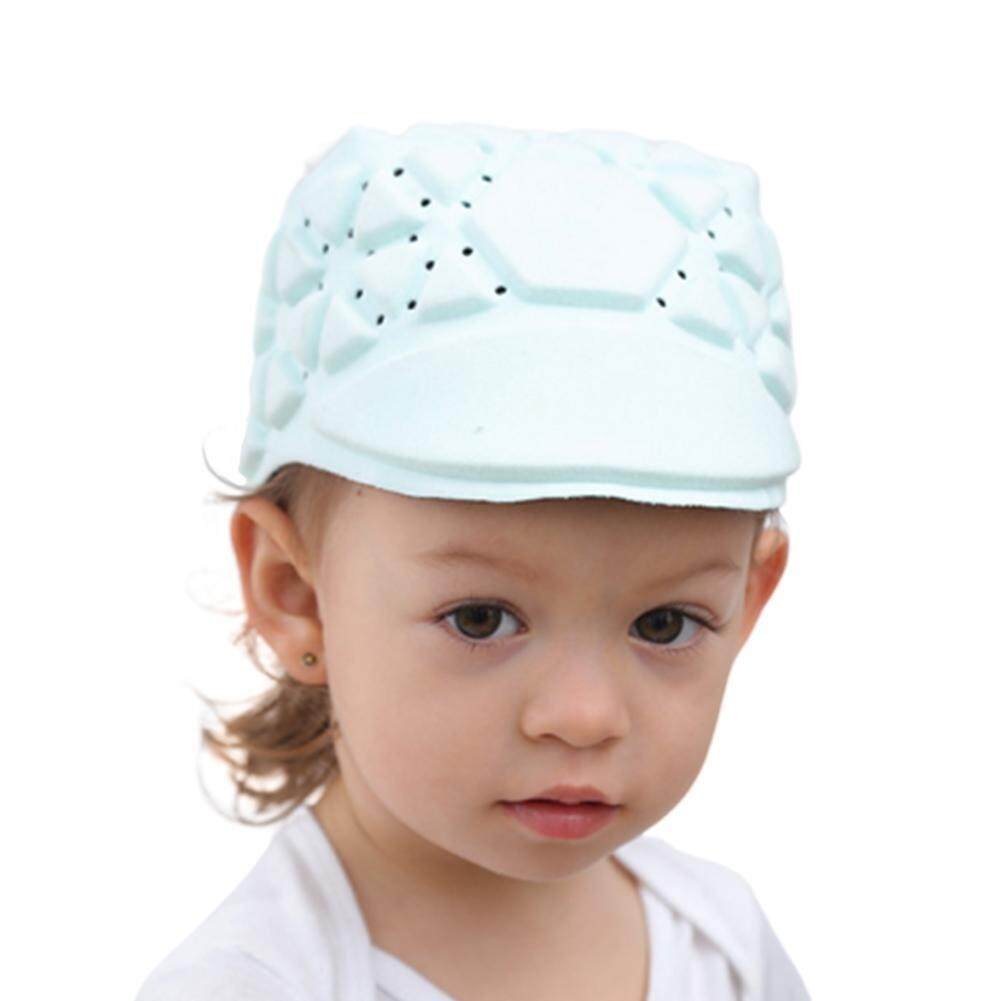 Bayi Anti-Tabrakan Helm Keselamatan Bayi Balita Keamanan & Perlindungan Topi Lembut untuk Berjalan Anak-anak Topi