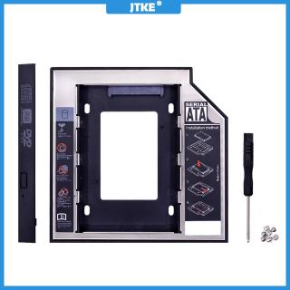 Hộp Đựng Ổ Cứng JTKE SATA 3.0 2nd HDD, 9.5Mm Cho 2.5 2TB SSD Ốp Lưng Vỏ Ổ Đĩa Cứng Với Đèn LED Cho DVD-ROM Máy Tính Xách Tay Khoang Quang thumbnail