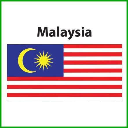 Malaysia Flag 3x6ft, Bendera Malaysia 3x6ft, Polyester