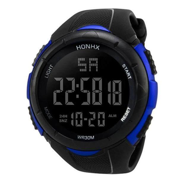 SNKJKW C Luxury Men Analog Digital Military Sport LED Waterproof Wrist Watch Yellow watch for men original automatic 2021 sale branded classic korean style digital high quality Malaysia