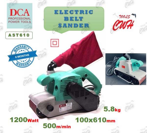 DCA AST610 1200W 100MMX610MM DST610 AST610 DONGCHENG WOOD BELT SANDER SANDING DONG CHENG M9400G SENCAN GBS75A ALLEFIX