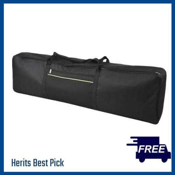 HERITS HOT ITEM ammoon 88-Key Keyboard Carry Bag Electric Piano Padded Case Gig Bag Zippered Closure with Top Handle (Bag Webbing Color Random Delivery ) (Standard) Malaysia