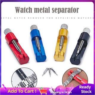 Hot Sale Metal Đồng Hồ Chuỗi Điều Chỉnh Thiết Bị Tháo Sửa Chữa Dây Đeo Đồng Hồ, Watchband Liên Kết Remover, Điều Chỉnh Công Cụ Sửa Chữa thumbnail