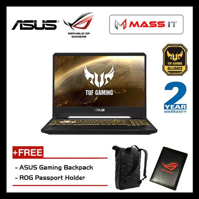 ASUS FX505G-MAL441T TUF Gaming (i7-8750H/GTX1060 6GD5/8GB D4 2666MHz/512GB PCIe NVMe M.2 SSD/15.6 120hz IPS FHD/WIN10/2 Years Warranty) Malaysia